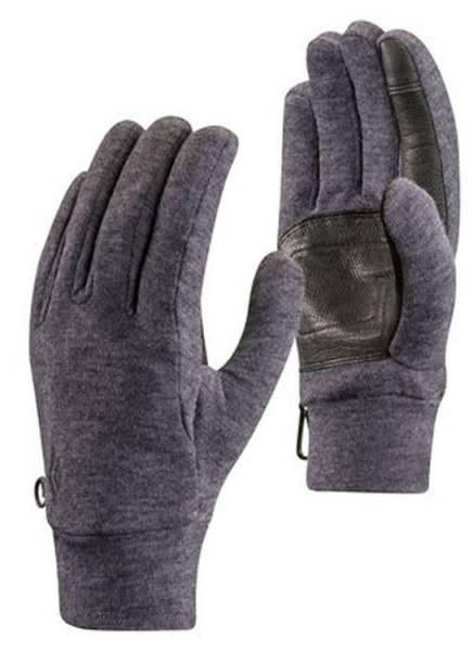 Black Diamond Midweight Wooltech Handschuh slate