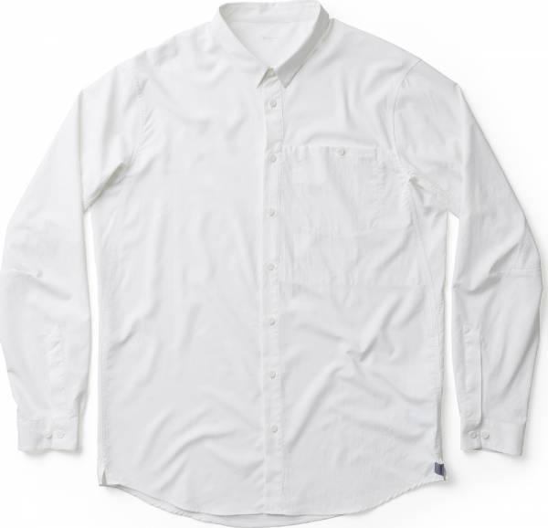 Houdini Longsleeve Shirt Men Hemd powerday white