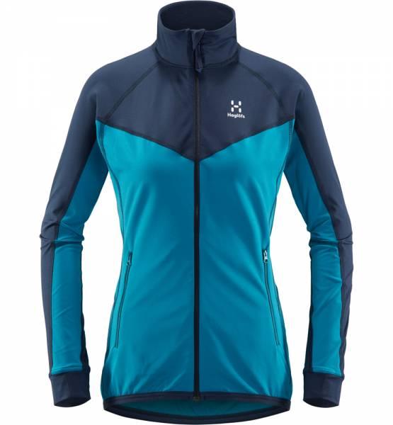 Haglöfs Lithe Jacket Women Midlayer mosaic blue / tarn blue