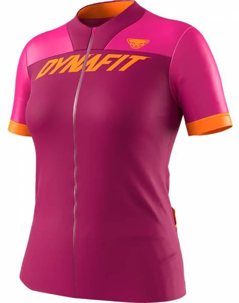 Dynafit Ride Full Zip Shirt Damen Trikot flamingo
