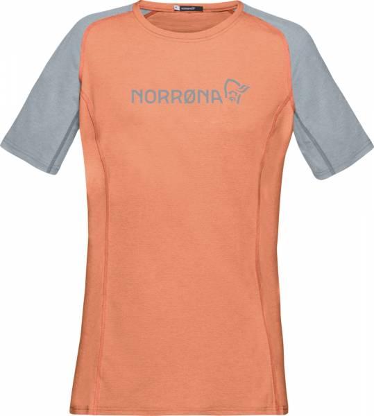 Norrona fjørå equaliser lightweight T-Shirt Women flamingo/drizzle