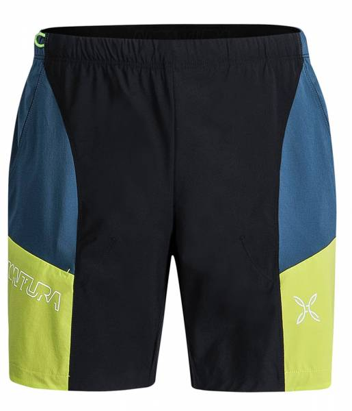 Montura Block Light Shorts Men Kletterhose nero/verde lime