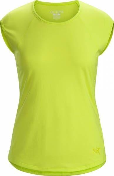 Arcteryx Kadem Top SS Women Shirt electrolyte