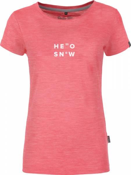 Pally´Hi Hello Snow Women T-Shirt rare raspberry