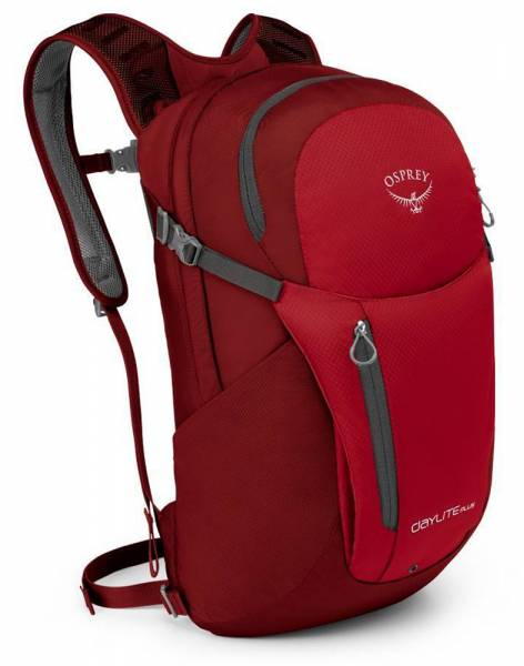 Osprey Daylite Plus Freizeitrucksack real red