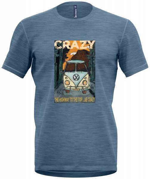 Crazy Idea T-Shirt Gulliver Man Herren Freizeitshirt dust-van