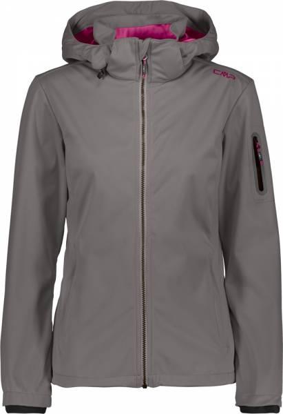 CMP Woman Jacket Zip Hood tortora (39A5016)