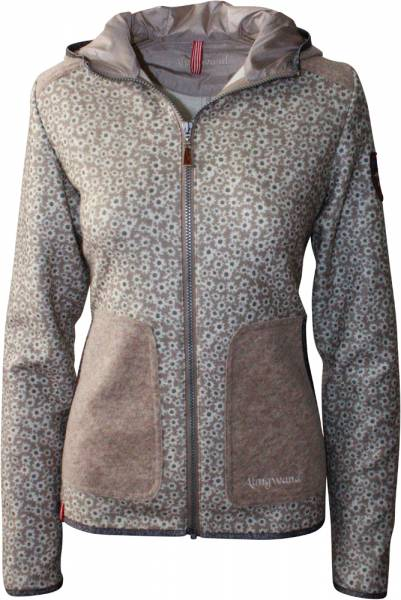 Almgwand Vilserkegel Jacket Women beige/beige